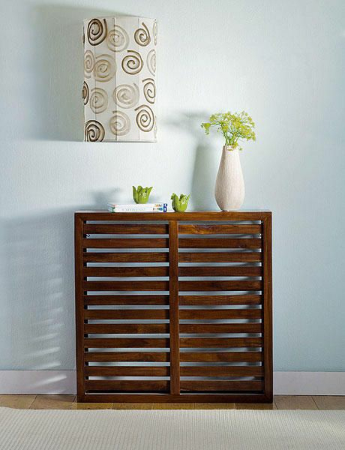 Sideboard dekorieren 99 schicke dekoideen f r ihr zuhause for Holzkommode ikea