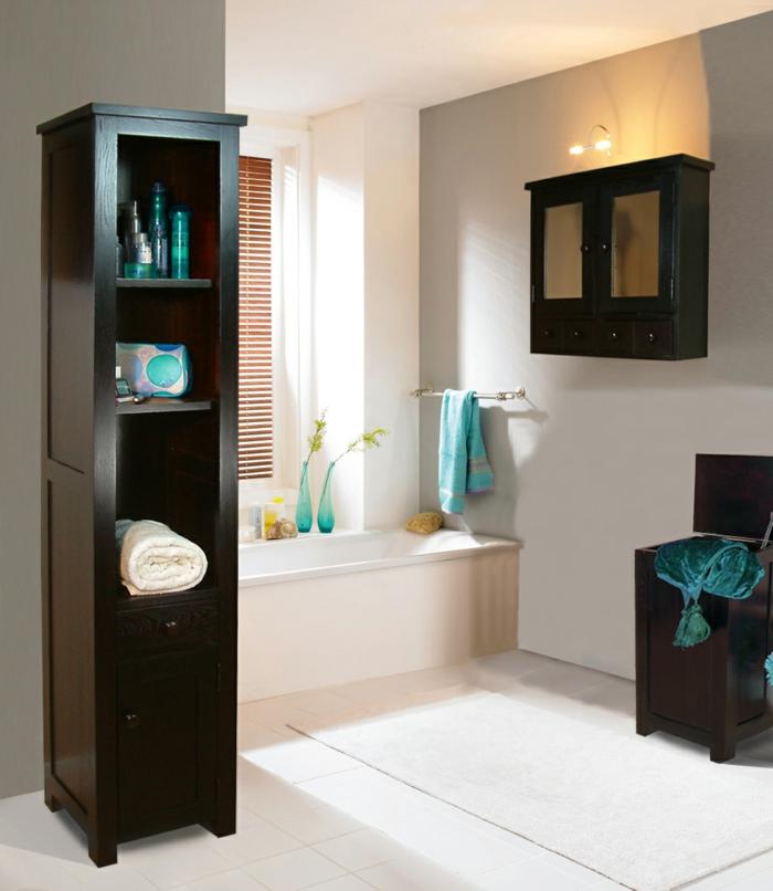 badeinrichtung badewanne badschränke bodenfliesen deko