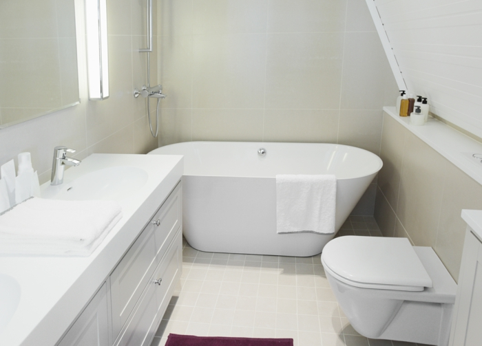 Badmöbel Für Kleines Bad badezimmer gestalten wie gestaltet richtig das bad nach feng shui