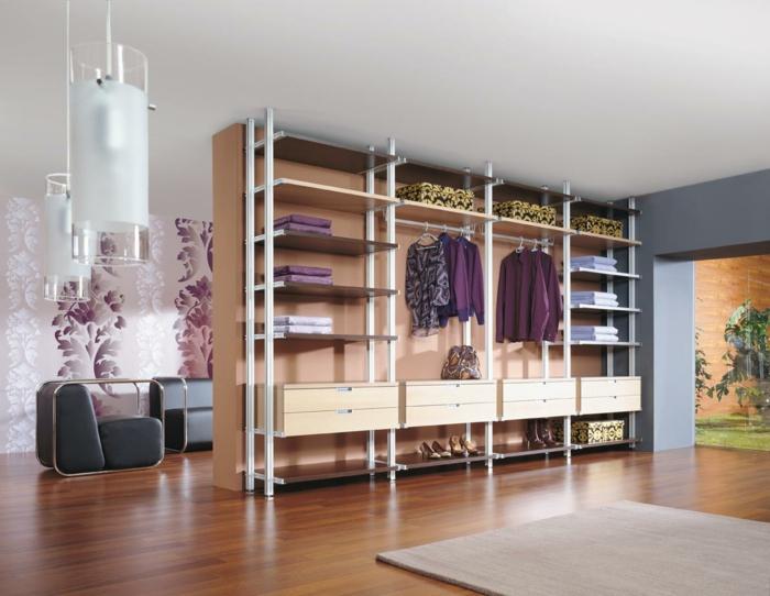 begehbarer kleiderschrank ideen ankleidezimmer möbel ankleide