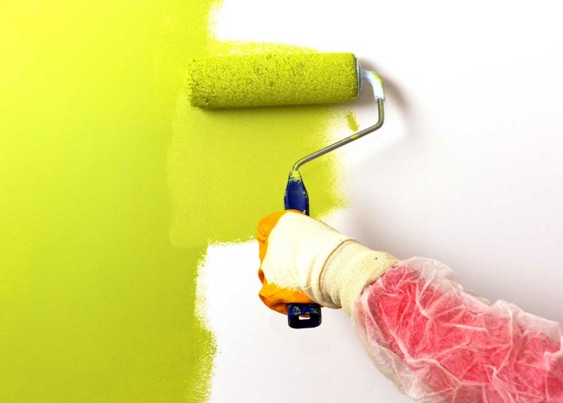 beste wandfarbe aussuchen leuchtendes grün moderne wandfarben