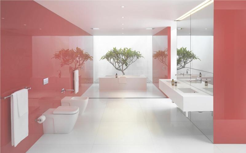 wandfarbe grau rot. Black Bedroom Furniture Sets. Home Design Ideas