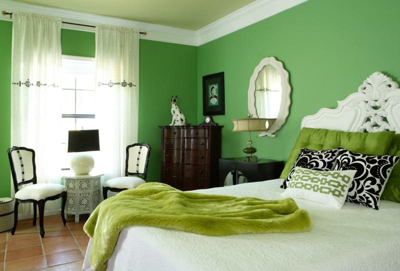 beste wandfarbe frisches schlafzimmer wandfarbe grün