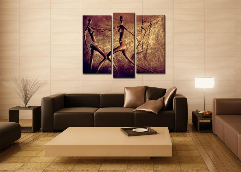 Braune Wandfarbe Wandgestaltung Mit Farbe Wohnzimmer