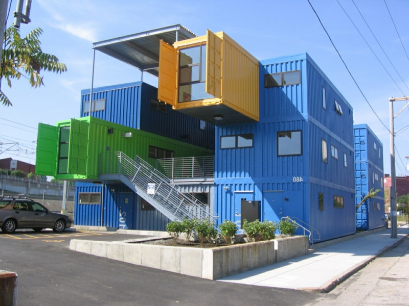 Cargo Box House Container Containerhäuser bauen