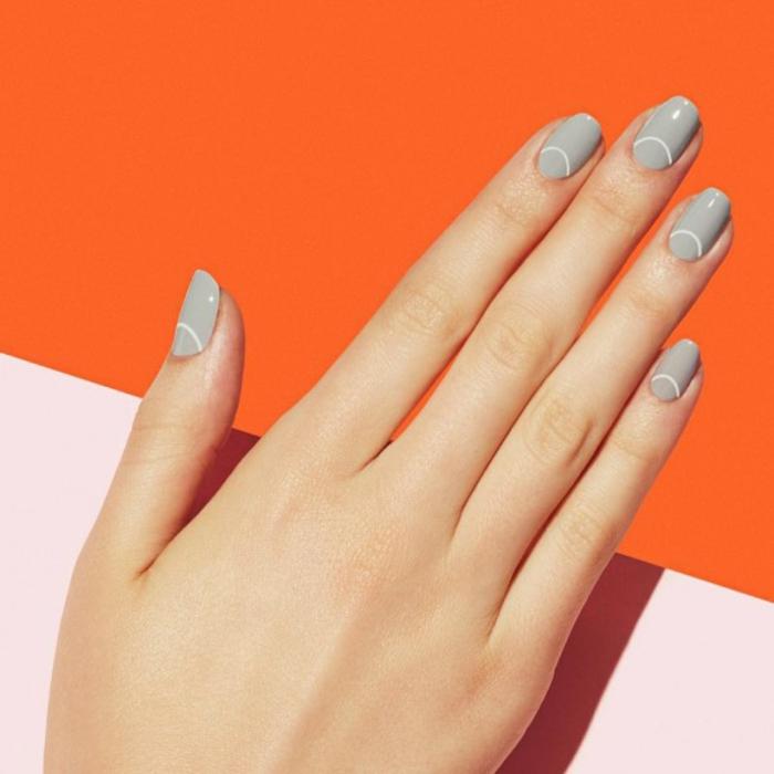coole Nageldesigns Bildergalerie Fingernägel Trends nude look