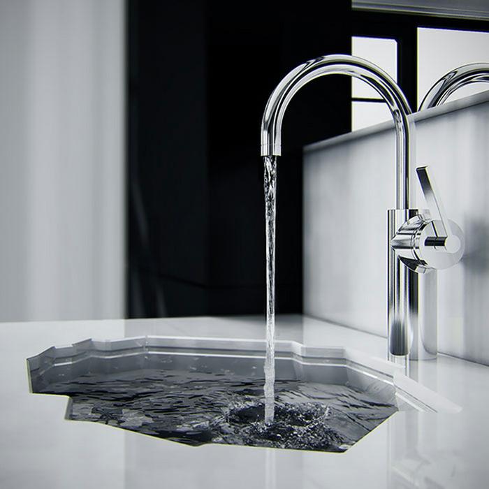 Waschbecken Design Flugelform ~ Kreative Bilder Für Zu Hause