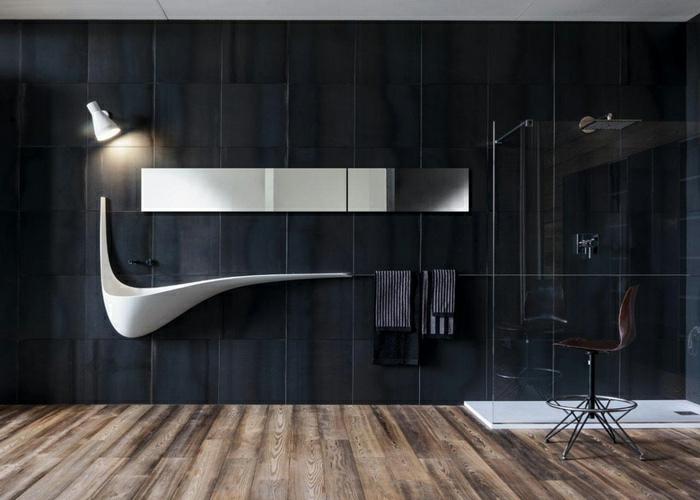 41 designer waschbecken mit schwung und raffinesse. Black Bedroom Furniture Sets. Home Design Ideas