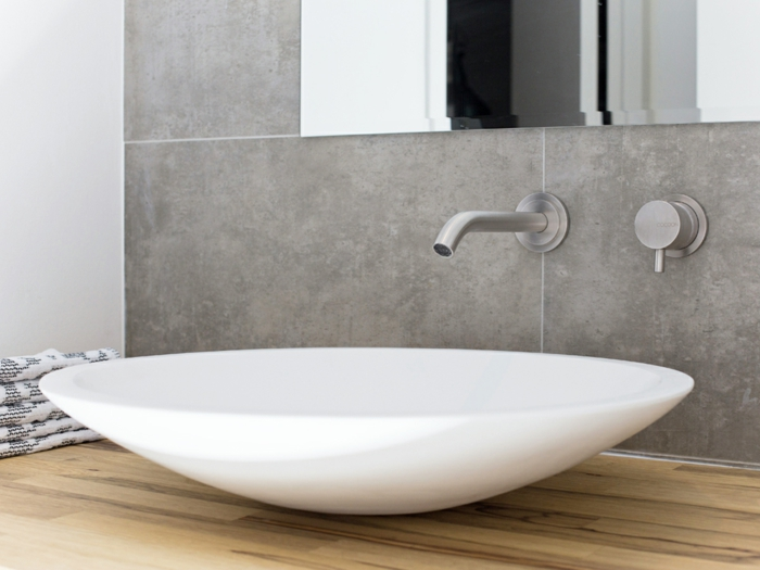 design waschbecken weiß minimalistisches design jessie verdonschot