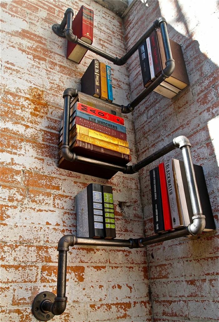 33 einrichtungsideen mit röhren im coolen industrial style - Wohnzimmer Industrial Style