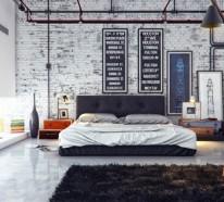 33 Einrichtungsideen mit Röhren im coolen Industrial Style