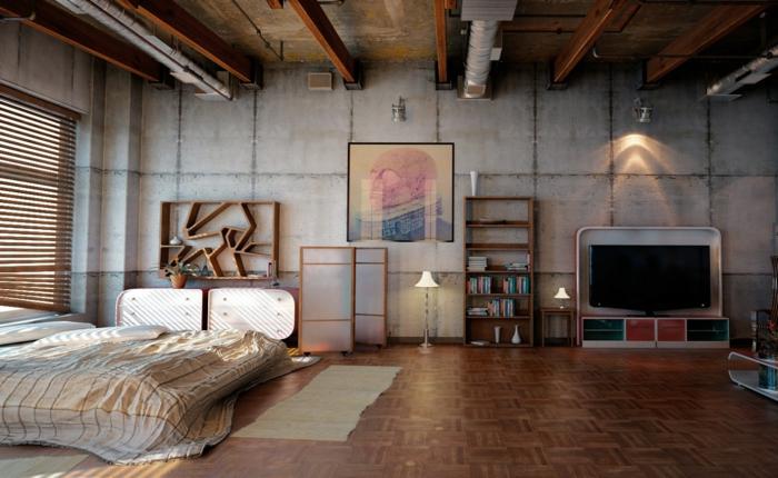 einrichtungsideen wohnidee industrieller stil röhren inneneinrichtung modern