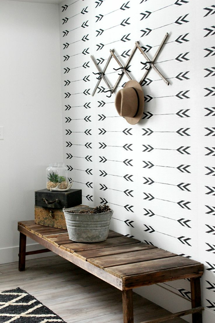 Haus renovieren mit umweltfreundlichen mitteln geht es for Rustikale tapete