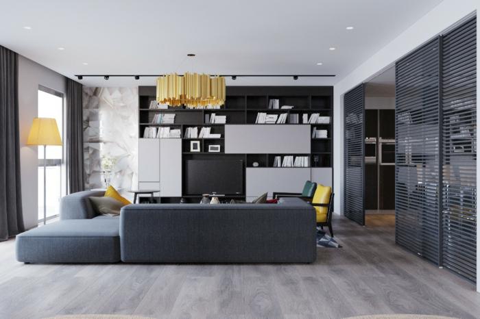 Design : Tapeten Wohnzimmer Grau ~ Inspirierende Bilder Von ... Graue Tapete Wohnzimmer