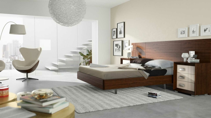 33 farbgestaltung ideen f r ihre gem tliche schlafoase. Black Bedroom Furniture Sets. Home Design Ideas