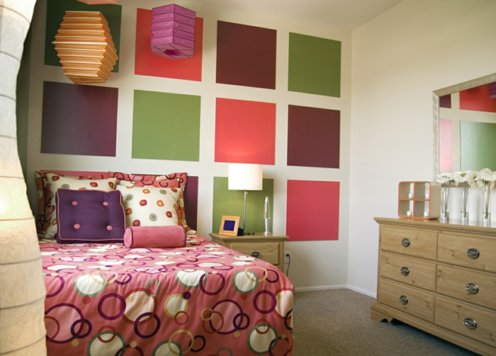Wandgestaltung Quadrate Beispiele Wandgestaltung Quadrate