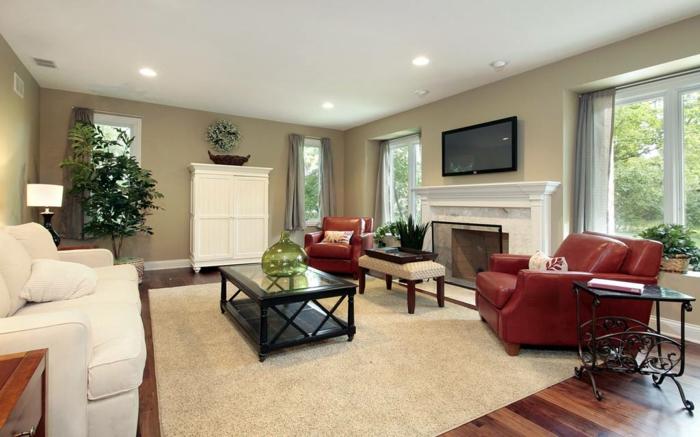 design : wohnzimmer braun weiß streichen ~ inspirierende bilder ... - Wohnzimmer Beige Streichen