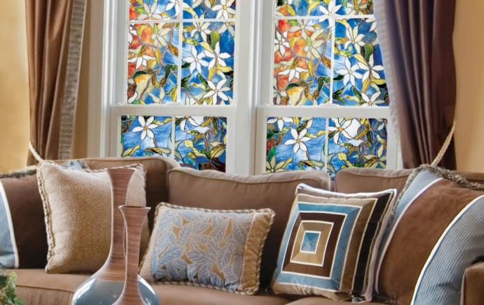Fenster Sichtschutz Als Dezente Fensterdekoration Gestalten ...
