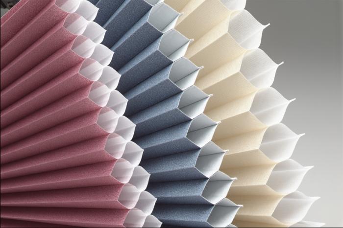 fenster sichtschutz plissees honigwabe zelluläre technologie