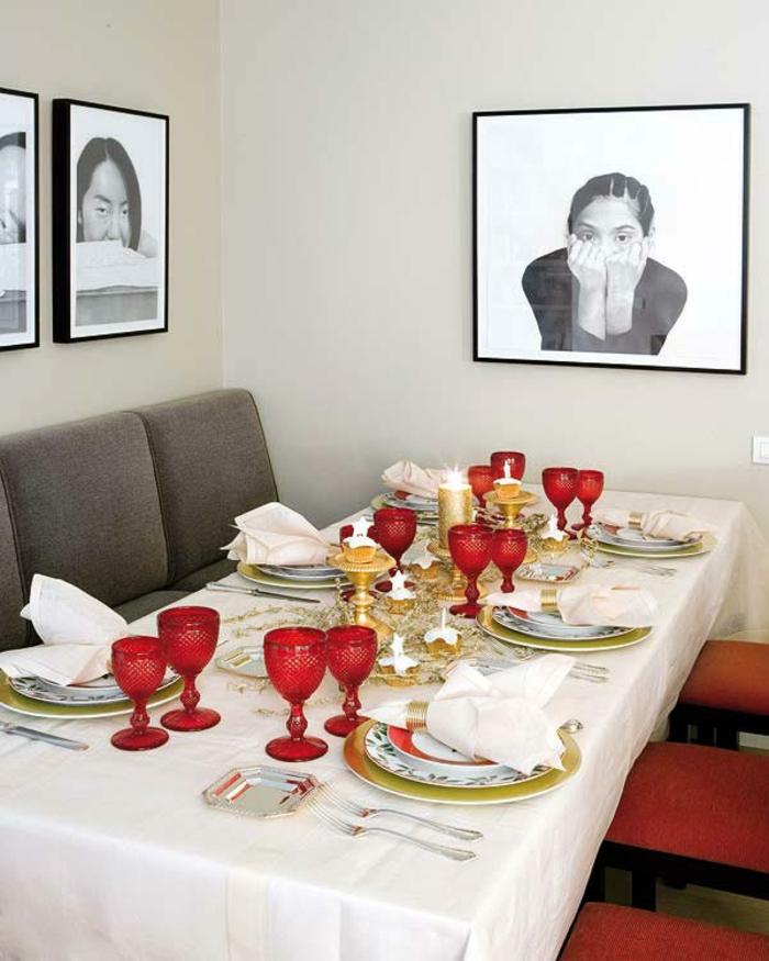 Tischdeko weihnachten basteln  Weihnachtliche Tischdeko selbst gemacht: 55 festliche ...