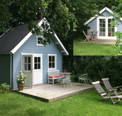 3 inspirierende einrichtungsideen f r ihr gartenhaus - Clockhouse gartenhaus ...