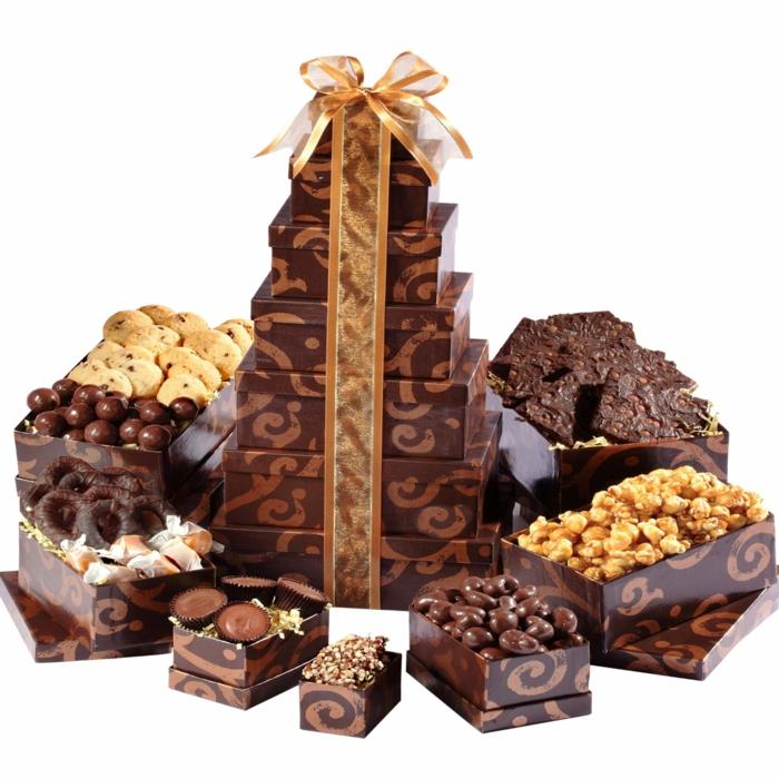 geschenkideen für freundind geschnekideen freund trueffel mit nuessen geschenk