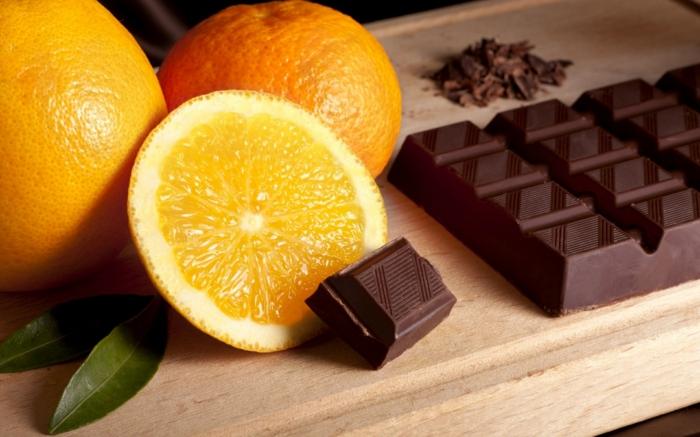 geschenkideen für freundind geschnekideen freund trueffel mit nuessen vollmilchzimt orange