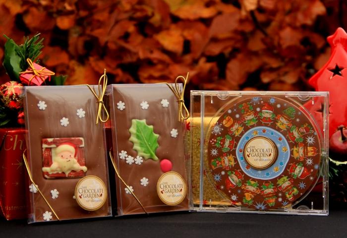geschenkideen für freundind geschnekideen freund trueffel mit nuessen vollmilch zimt selbst collage