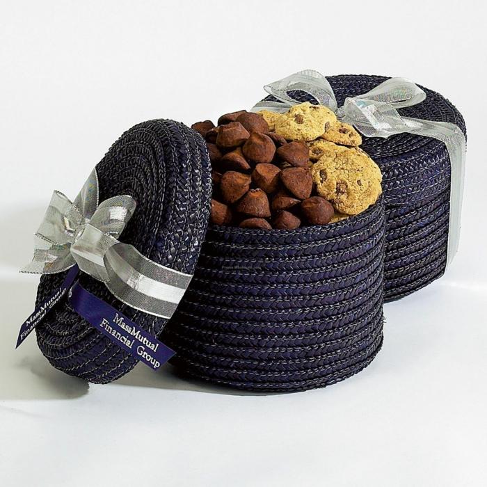 geschenkideen für freundind geschnekideen freund trueffel mit nuessen vollmilch zimt selbst korb