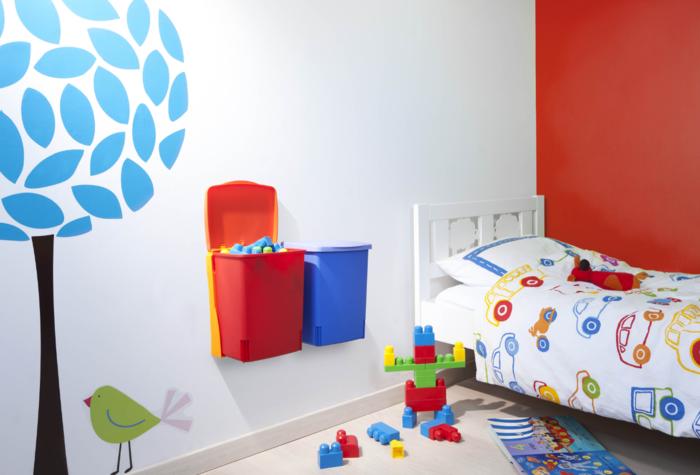 haushaltsplan putzen haus putzplan kinderzimmer spielzeug plastikeimer