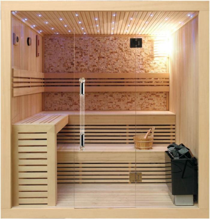 heimsauna karibu sauna dampfsauna sauna Zuhause sauna karibu kompakt sauna