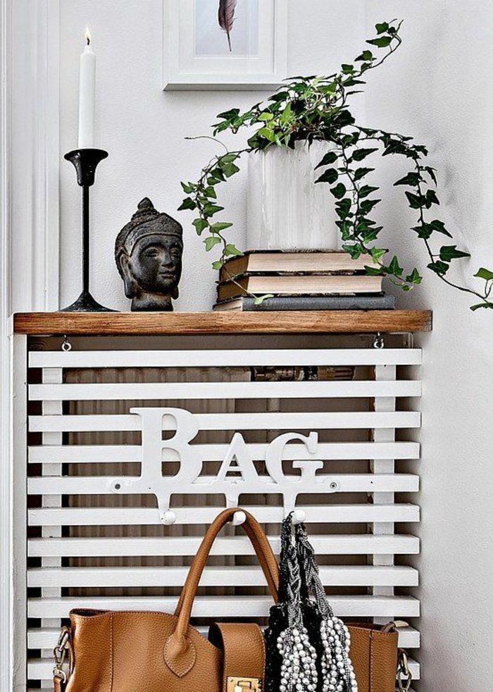 HeizkOrperverkleidung In Holz ~ Subtiles, orientalisches Flair mit metallenen Ornamenten und buntem
