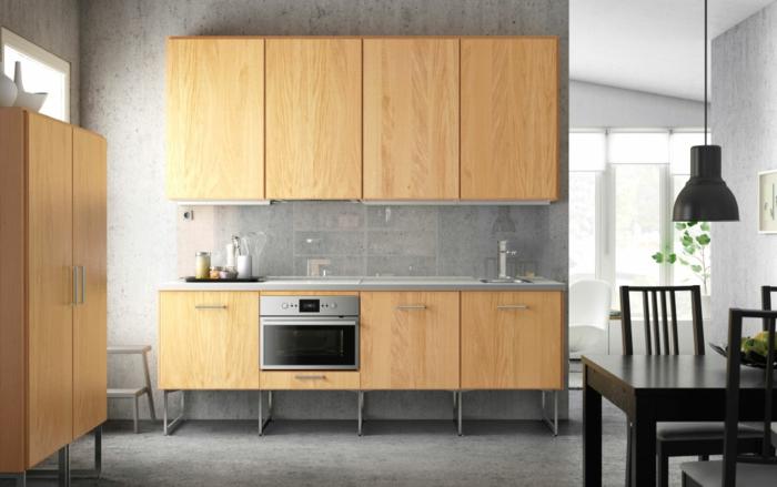 Küche Holz Und Weiss