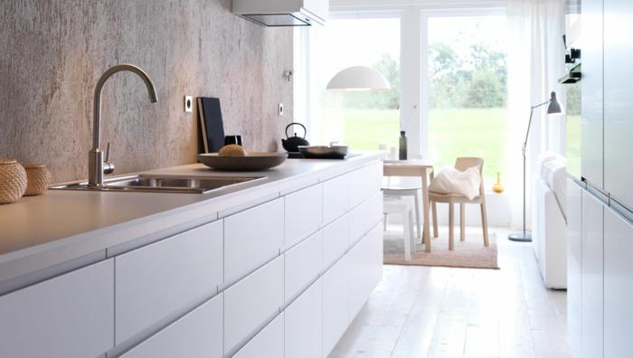 Landhausküchen weiss modern ikea  20 IKEA Küchen Ideen - die neusten Trends 2016