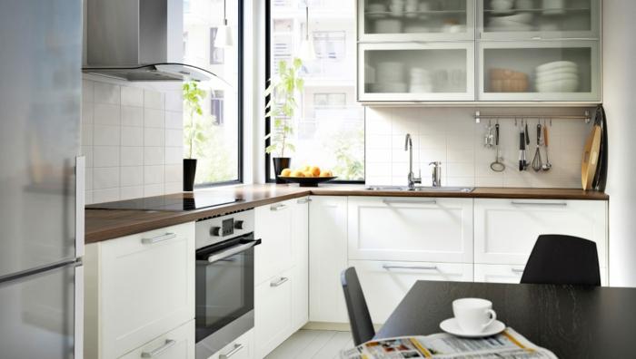 20 IKEA Küchen Ideen - die neusten Trends 2016 | {Ikea landhausküche weiß 35}