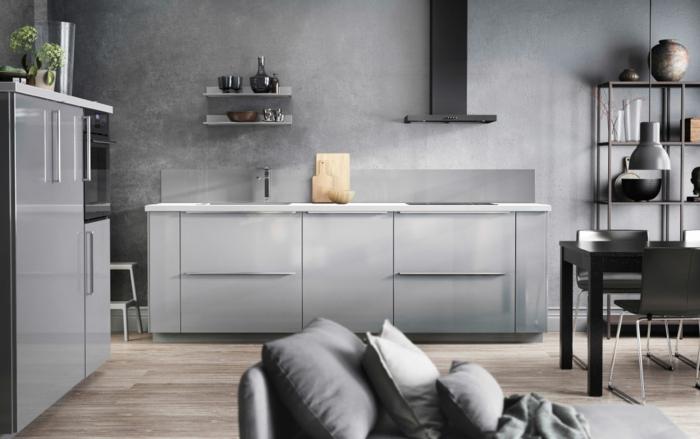 Keukens Ikea Grijs : 20 IKEA Küchen Ideen die neusten Trends 2016