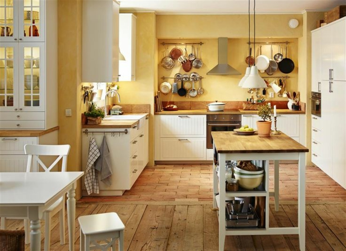 20 IKEA Küchen Ideen - die neusten Trends 2016 | {Ikea landhausküche weiß 32}