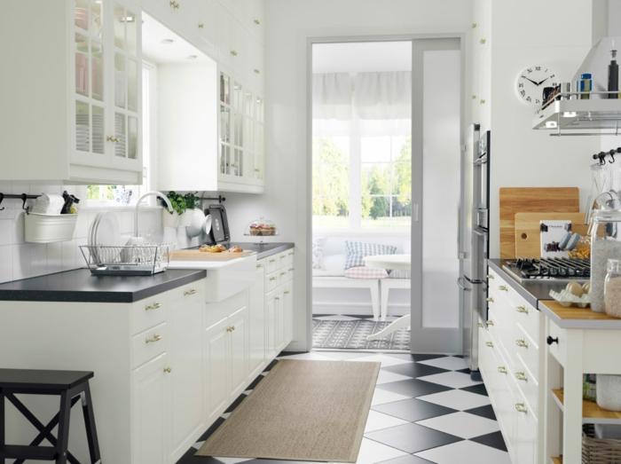 20 IKEA Küchen Ideen - die neusten Trends 2016 | {Moderne landhausküche ikea 0}