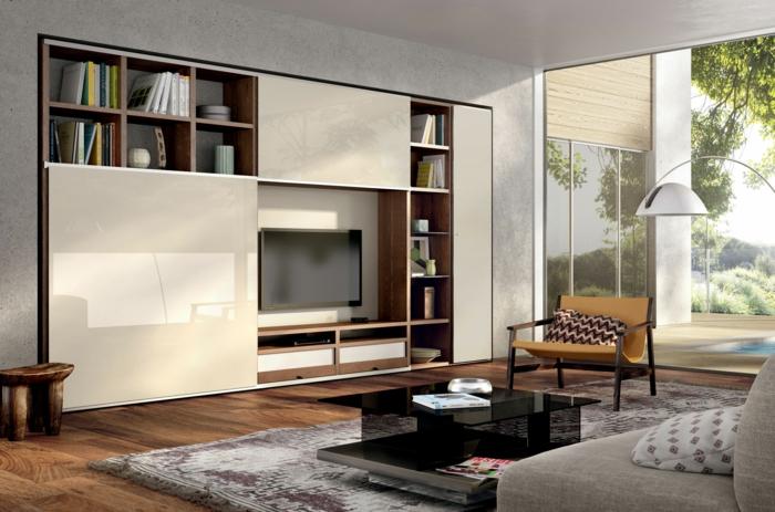 wohnzimmerschrank ikea:IKEA Wohnwand BESTÅ – eine vielseitige und flexible Lösung für
