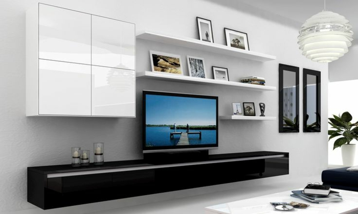 Wohnwand ideen ikea  IKEA Wohnwand BESTÅ - ein flexibles Modulsystem mit Stil