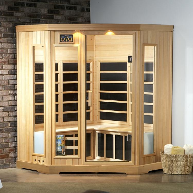infrarotkabine test klassische sauna oder infrarot wärmekabinen