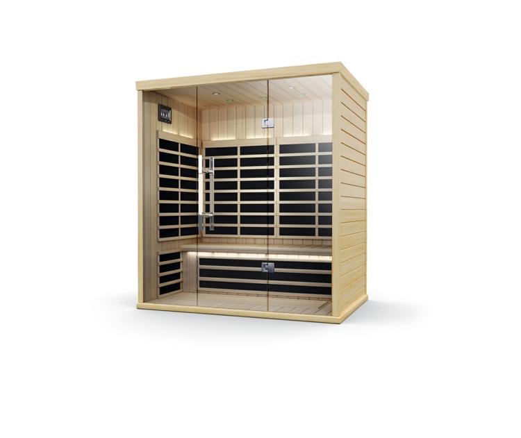 infrarotkabine test sauna oder infrarot wärmekabine