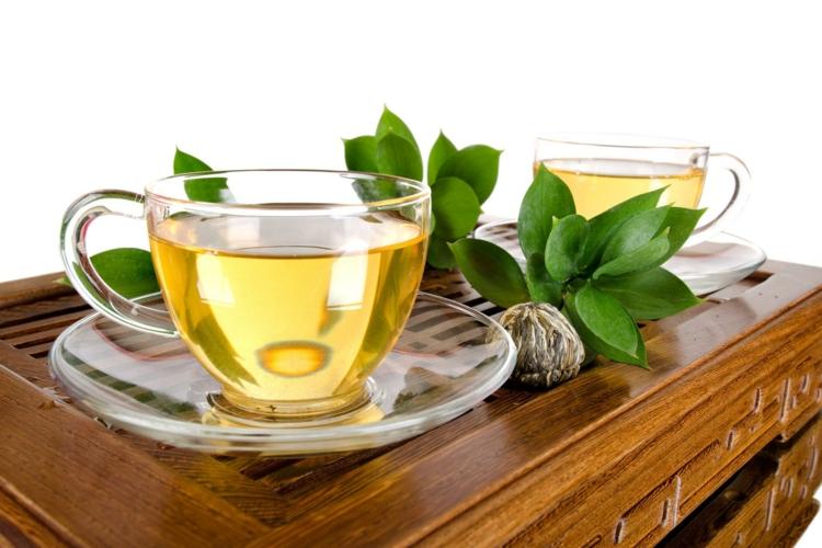 ist Tee gesund Minztee trinken Wirkung