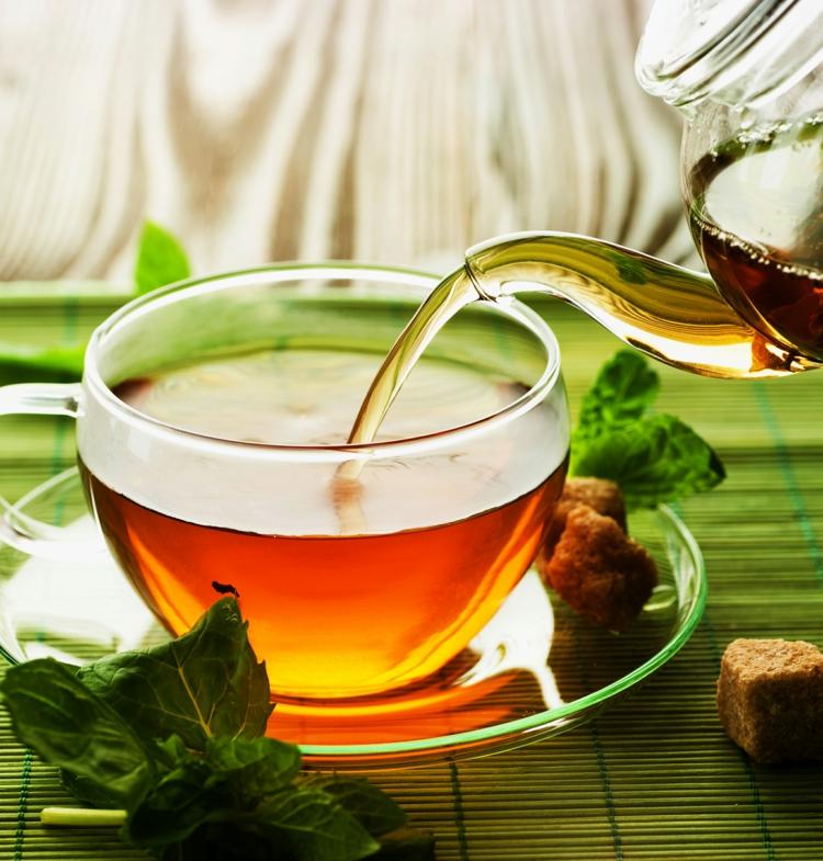 ist grüner Tee gesund Gesundheitstipps