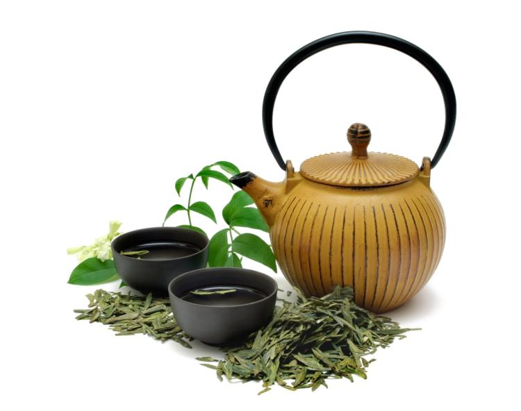 ist grüner Tee gesund Teezubereitung