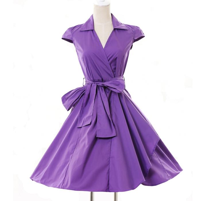 kleider vintage 50er lila aliexpress