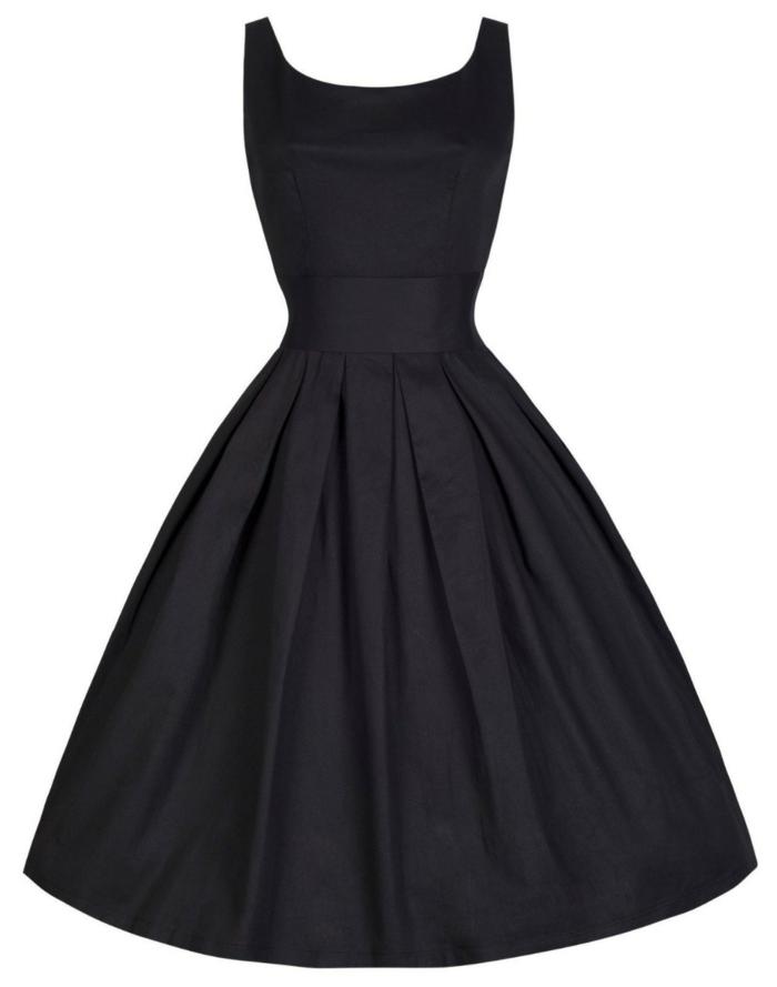 kleider vintage schwarz 50er 60er vintage mode damen