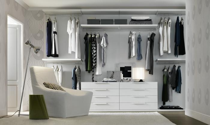 kleiderschrank ideen ankleide einrichten offener kleiderschrank