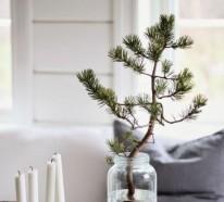 Bastelideen für Weihnachten: einen kreativen Weihnachtsbaum basteln