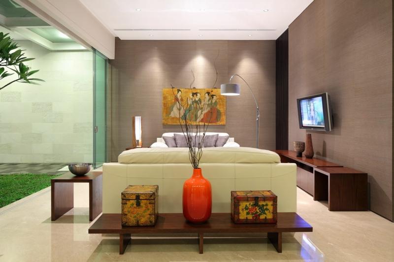 kreative Wohnideen Wohnzimmer einrichten Beispiele